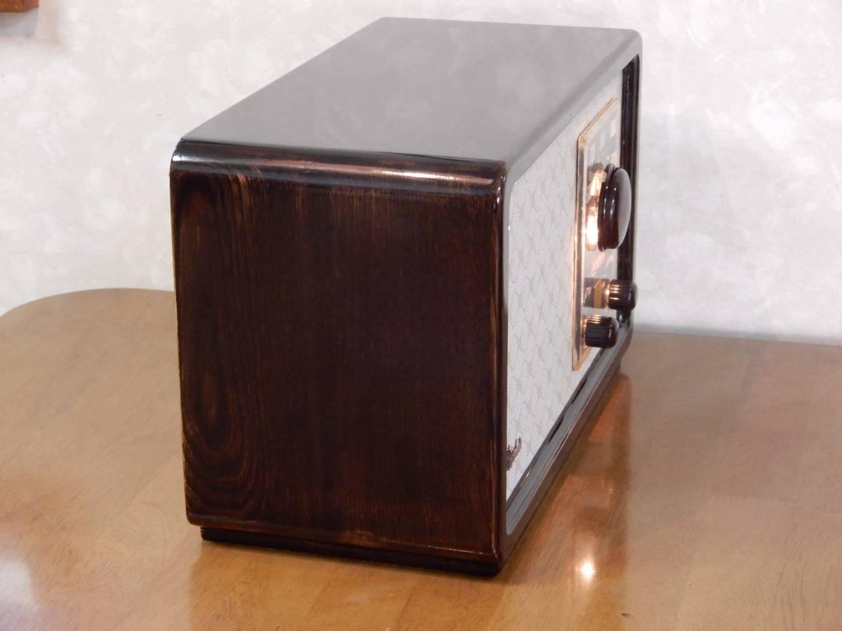 真空管ラジオ シャープ 5R-75型 【整備済】_画像6