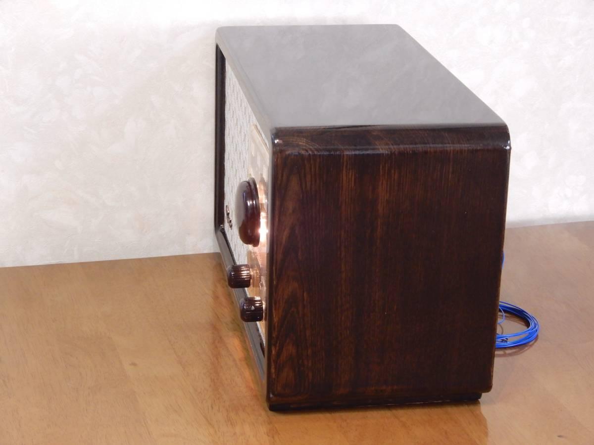 真空管ラジオ シャープ 5R-75型 【整備済】_画像7