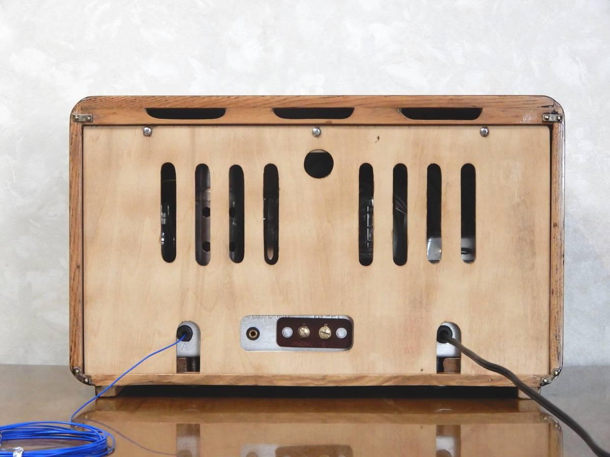 真空管ラジオ シャープ 5R-75型 【整備済】_画像8
