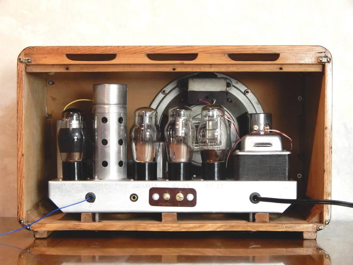 真空管ラジオ シャープ 5R-75型 【整備済】_画像9
