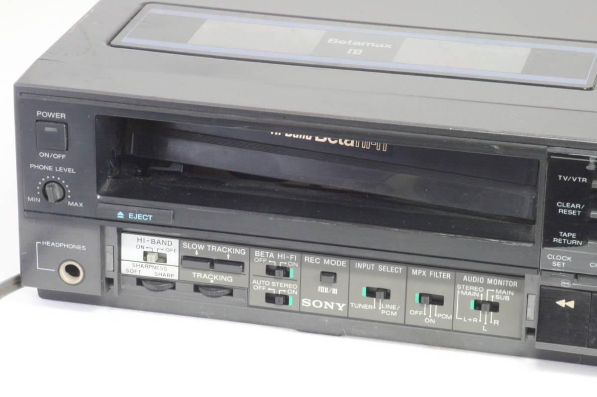 SONY Hi-Band Betamax SL-HF505 ソニー ベータマックス ハイバンド 難あり [9d07]_画像3
