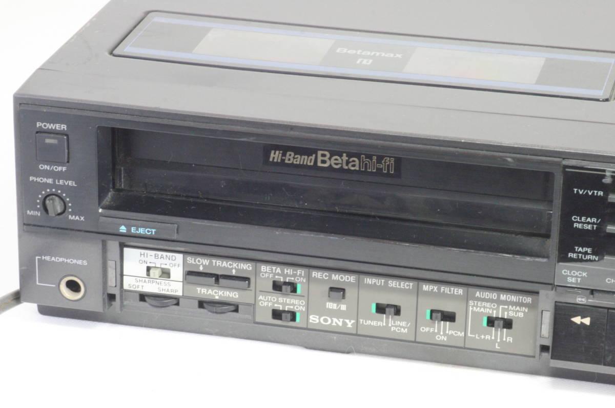SONY Hi-Band Betamax SL-HF505 ソニー ベータマックス ハイバンド 難あり [9d07]_画像2