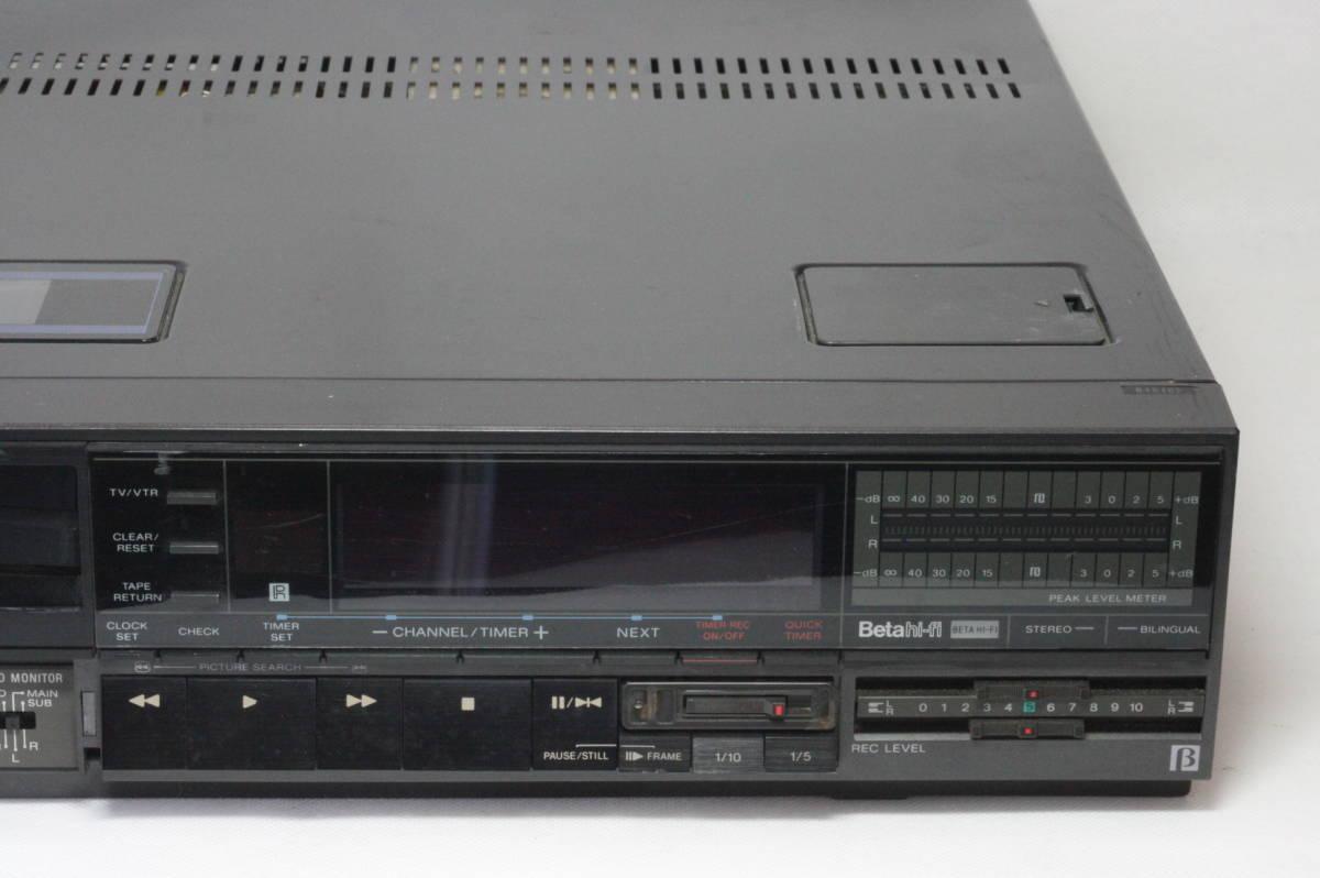 SONY Hi-Band Betamax SL-HF505 ソニー ベータマックス ハイバンド 難あり [9d07]_画像4