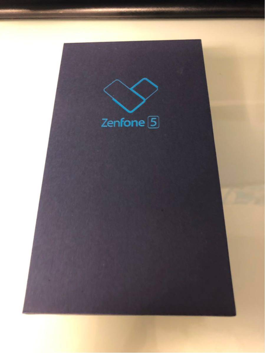 ASUS zenfone5 ZE620KL ゼンフォン5 スペースシルバー 国内SIMフリー 新品未開封 ヨドバシカメラ購入 送料無料