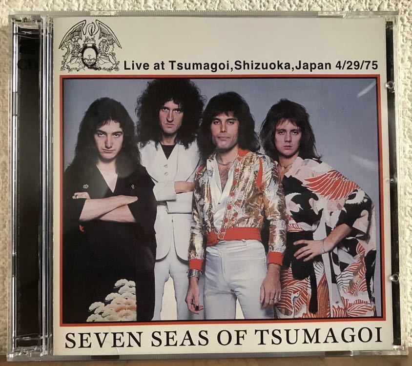 ◆QUEEN クイーン / Seven Seas Of Tsumagoi / 1975年4月29日 静岡掛川・ヤマハつま恋ホール公演 / 2CDセット◆