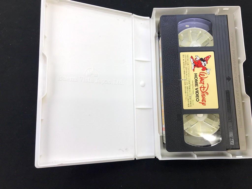 WALT DISNEY HOME VIDEO 夢と魔法の宝石箱 ミッキーのジャングル探検 形式: VHS カラー/45分 日本語吹き替え版 中古品  保存品_画像6