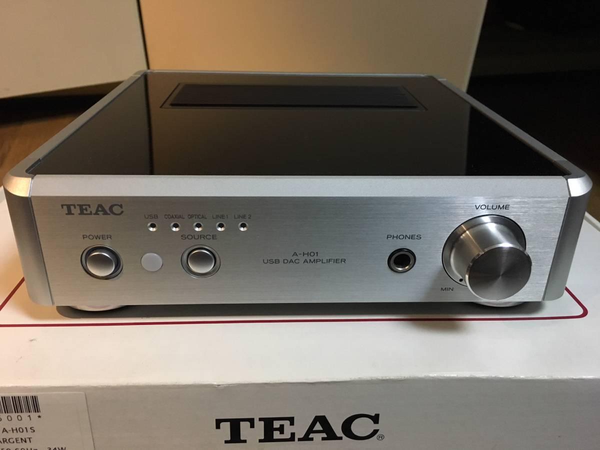 ティアック TEAC  A-H01 USB DACステレオプリメインアンプ 中古