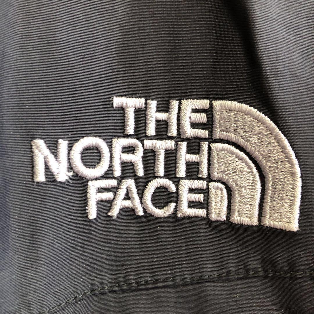 ノースフェイス ハイベント マウンテンパーカー メンズLサイズ 正規品 黒 ブラック 本物 ナイロンジャケット ウィンドブレーカー 定番_画像3