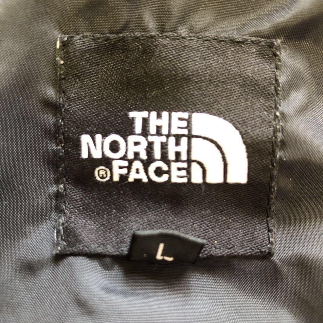 ノースフェイス ハイベント マウンテンパーカー メンズLサイズ 正規品 黒 ブラック 本物 ナイロンジャケット ウィンドブレーカー 定番_画像7