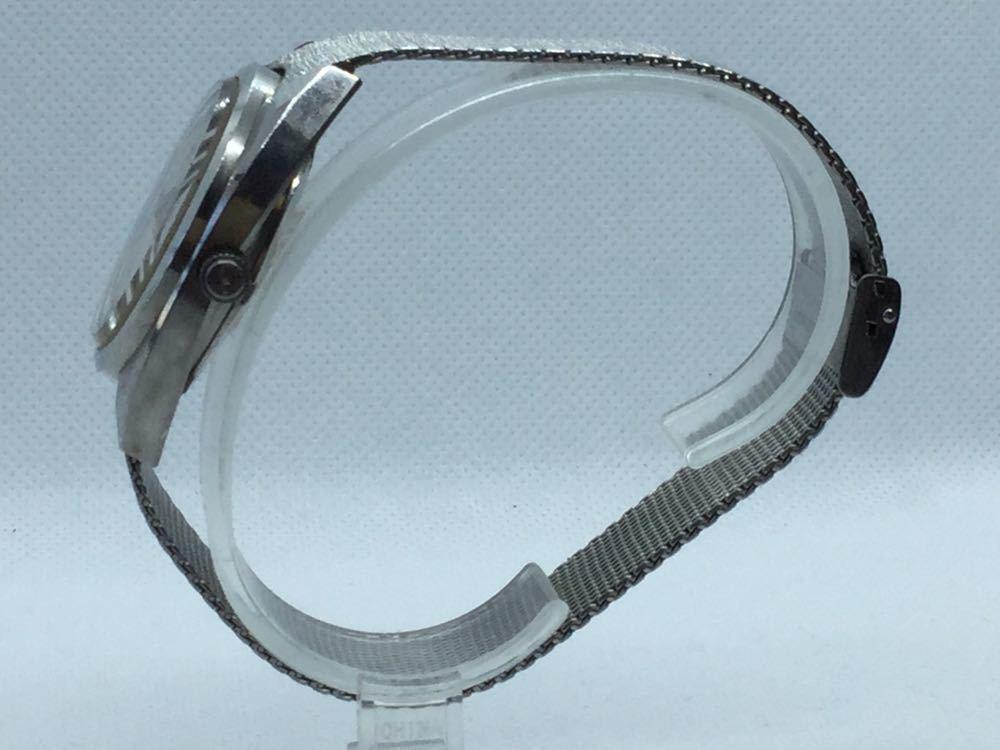 5 TECHNOS テクノス Sky Lighr AUTOMATIC自動巻 オートマチック オートマ アナログ メンズ 男性 腕時計 _画像3