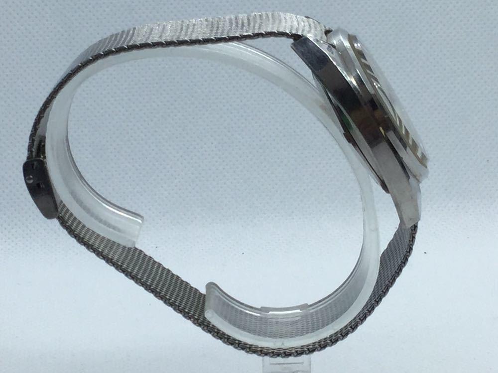 5 TECHNOS テクノス Sky Lighr AUTOMATIC自動巻 オートマチック オートマ アナログ メンズ 男性 腕時計 _画像4