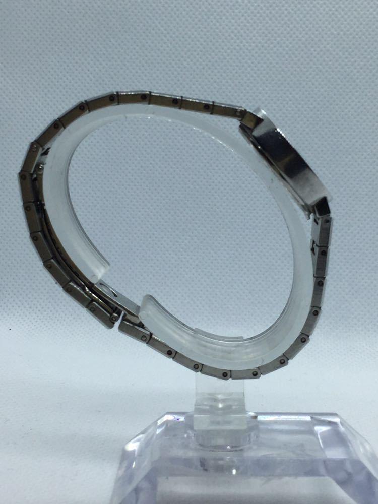 電池交換済み BVLGARI ブルガリ BVLGARIBVLGARI ブルガリブルガリBB23 SS D401189 黒文字盤 腕時計 レディース 女性 _画像4