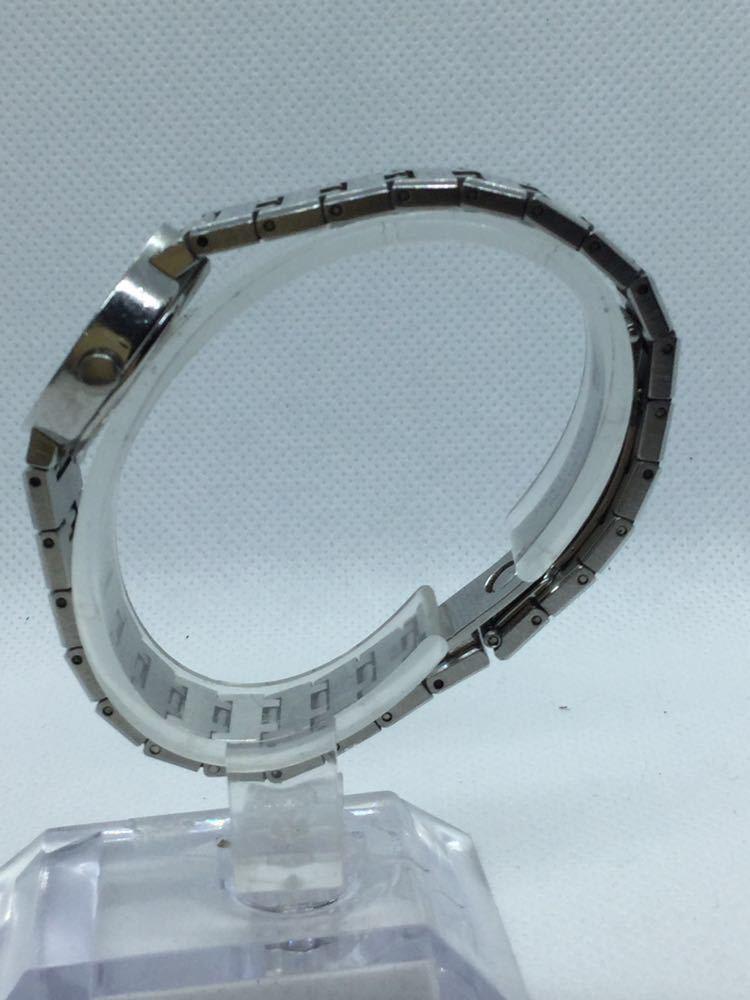 電池交換済み BVLGARI ブルガリ BVLGARIBVLGARI ブルガリブルガリBB23 SS D401189 黒文字盤 腕時計 レディース 女性 _画像3