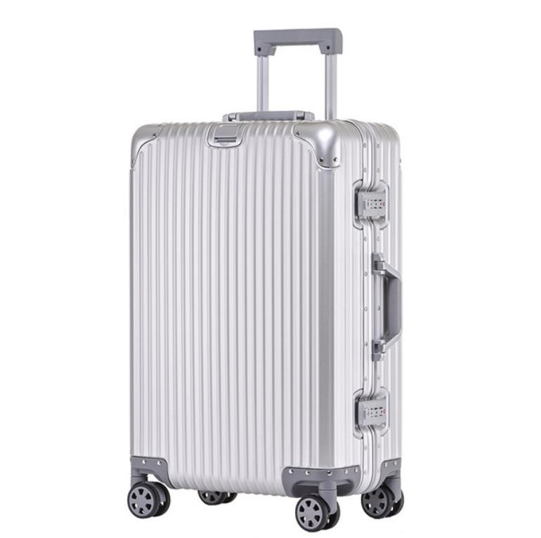 【定価30万】高品質 アルミマグネシウム合金キャリーケース 機内持ち込み可スーツケース TSAロック搭載 ビジネス トラベルバッグ 20インチ