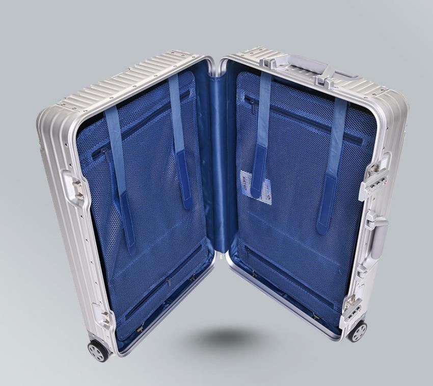 【定価30万】高品質 アルミマグネシウム合金キャリーケース 機内持ち込み可スーツケース TSAロック搭載 ビジネス トラベルバッグ 20インチ_画像3