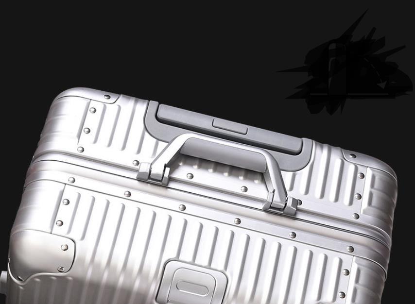 【定価30万】高品質 アルミマグネシウム合金キャリーケース 機内持ち込み可スーツケース TSAロック搭載 ビジネス トラベルバッグ 20インチ_画像5
