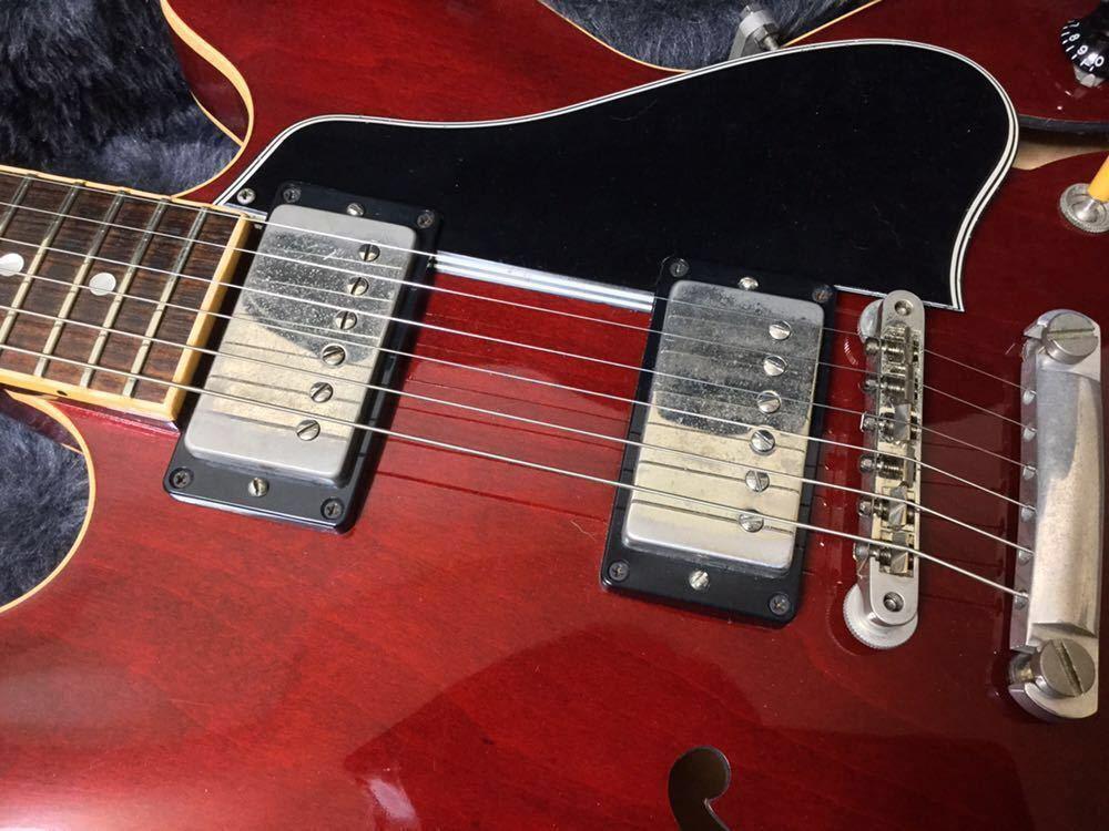 Gibson Custom Shop ES-335 2006年製/Tom Holmes ピックアップ搭載_画像4