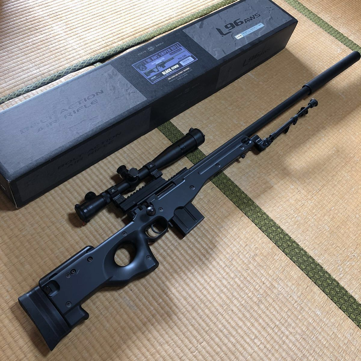 Tokyo Marui L96 AWS BK bolt action snaipa- life ru: Real