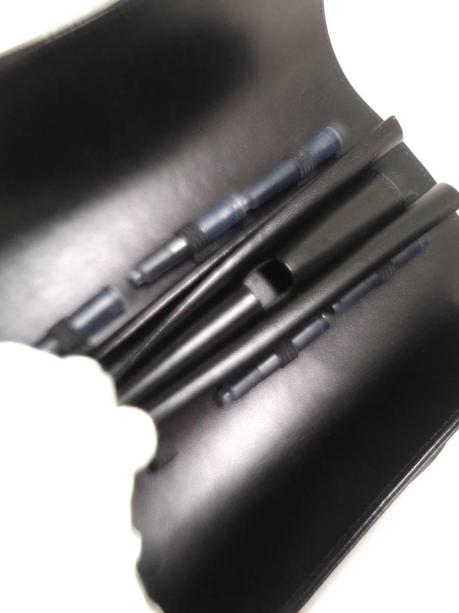 1円~MONTBLANC/モンブラン/ル・グラン/マイスターシュティック トラベラー/12090/万年筆/ペン先18K/ケース・カートリッジ付き_画像8