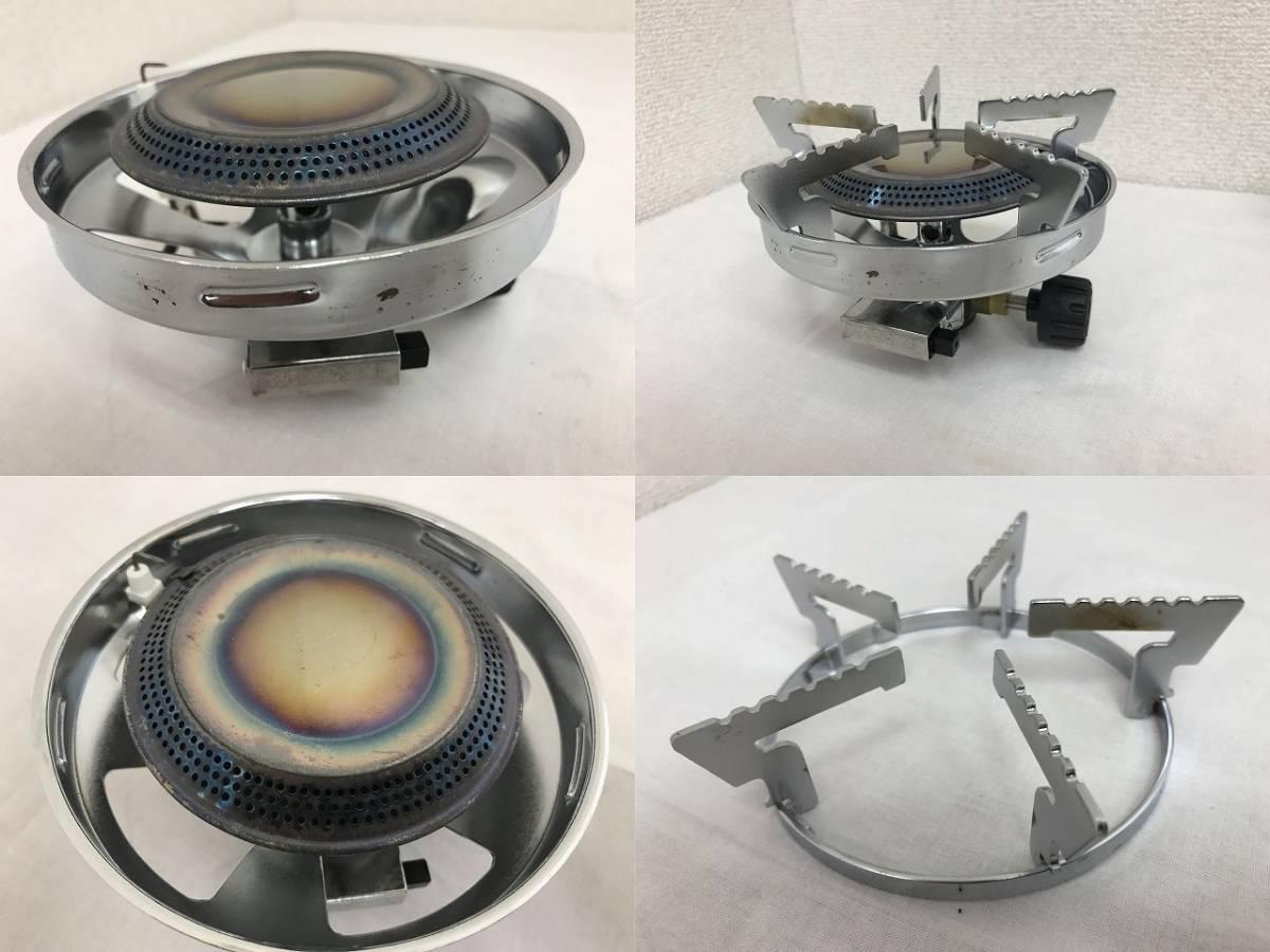 ★キャプテンスタッグ 小型ガスバーナーコンロ〈圧電点火装置付〉クッカーセット M-7903E★_画像8