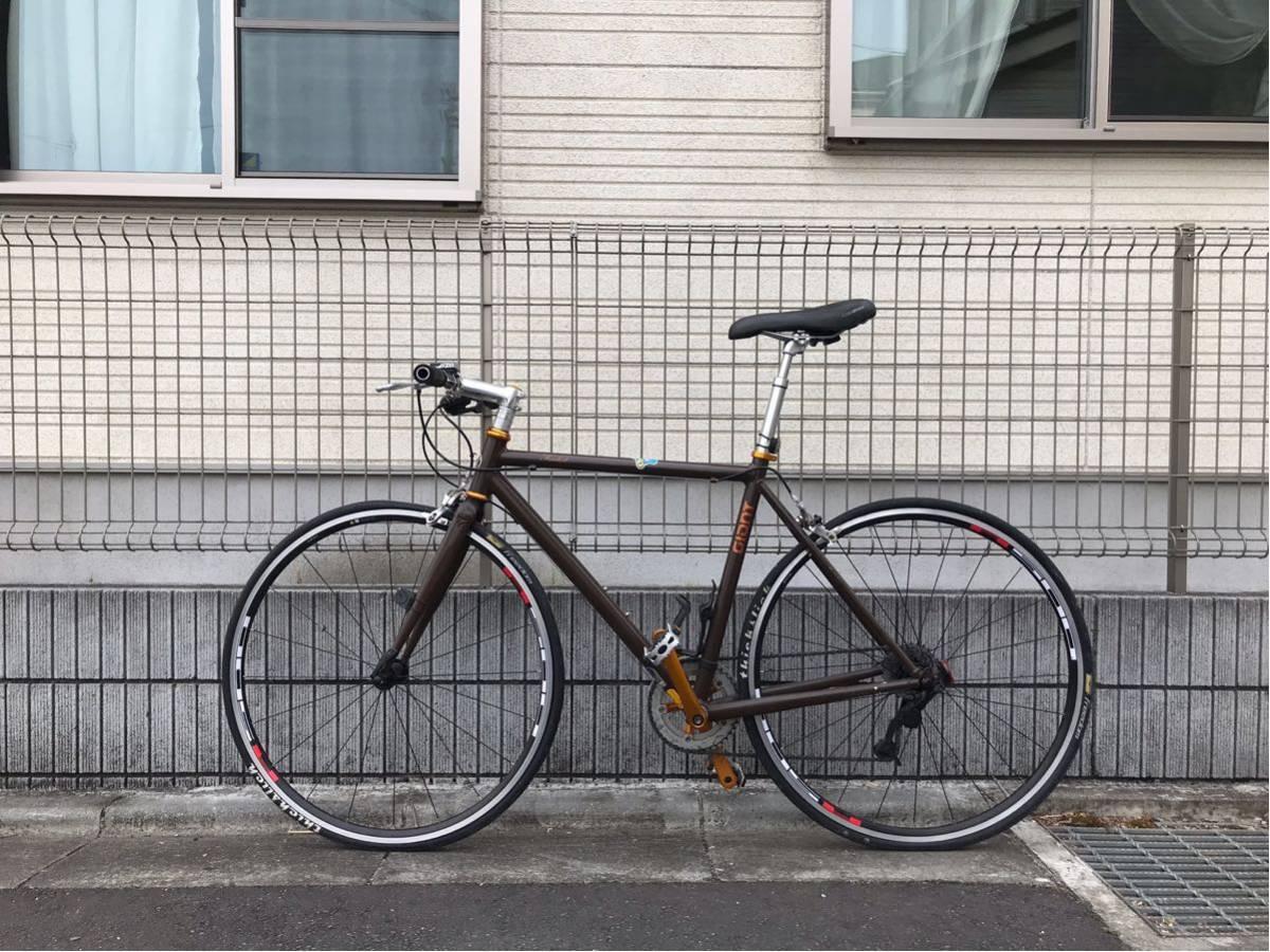 【クロスバイク】GIANT TRADIST カスタム