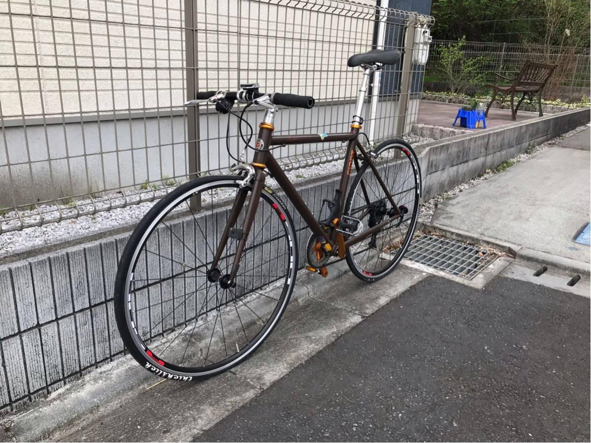 【クロスバイク】GIANT TRADIST カスタム_画像2