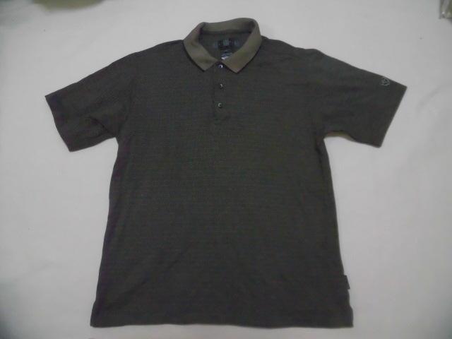 NIKE GOLF ナイキゴルフ ポロシャツ ナイキゴルフ 総柄ポロシャツ DRI-FIT_画像1