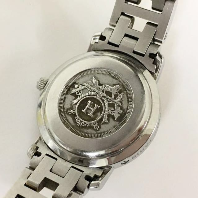 HERMES/エルメス クリッパー CL4 220 レディース腕時計 1円スタート_画像2