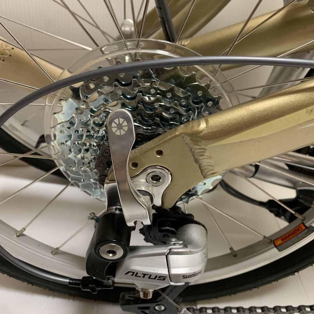 超美品■DAHON mup9 ダホン 折りたたみ自転車_画像6