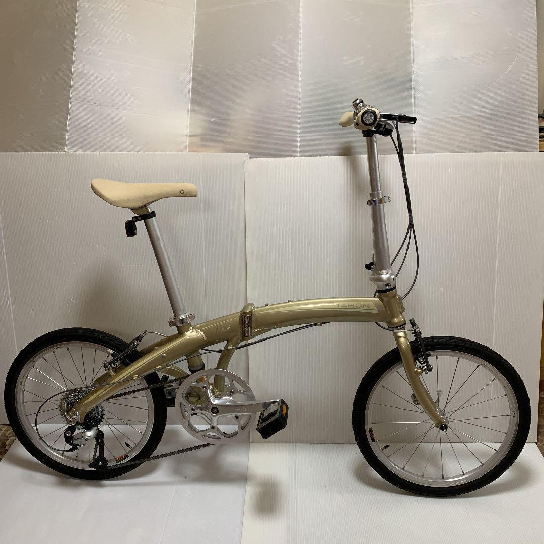 超美品■DAHON mup9 ダホン 折りたたみ自転車