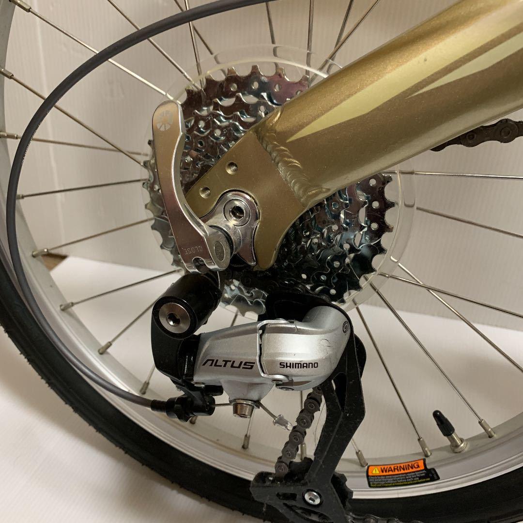 超美品■DAHON mup9 ダホン 折りたたみ自転車_画像7