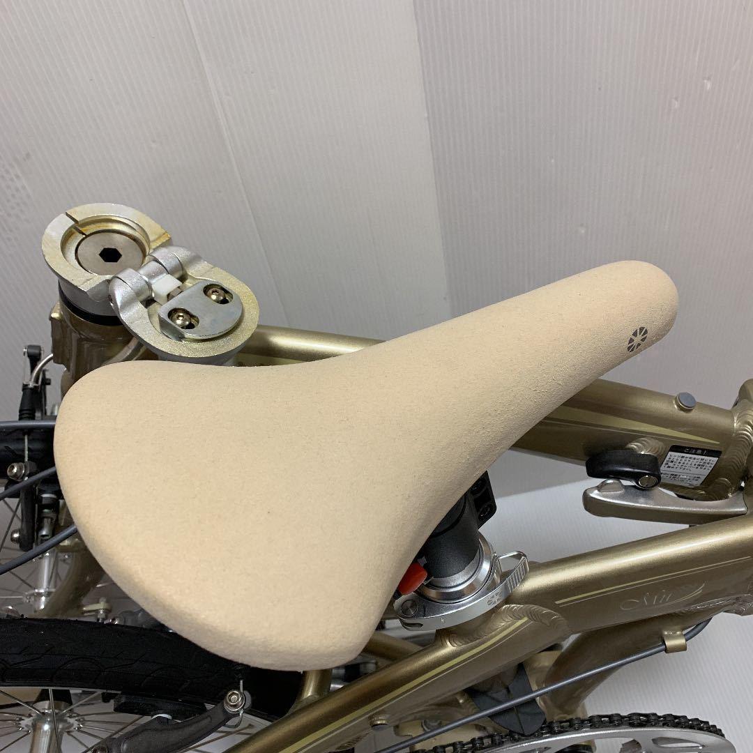 超美品■DAHON mup9 ダホン 折りたたみ自転車_画像4