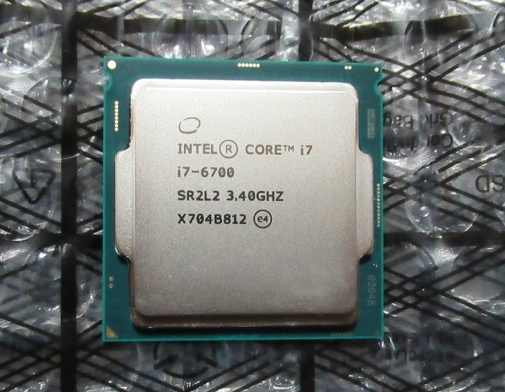 Intel Core i7-6700 3.40GHz コードネーム:Skylake (本体のみ)送料無料