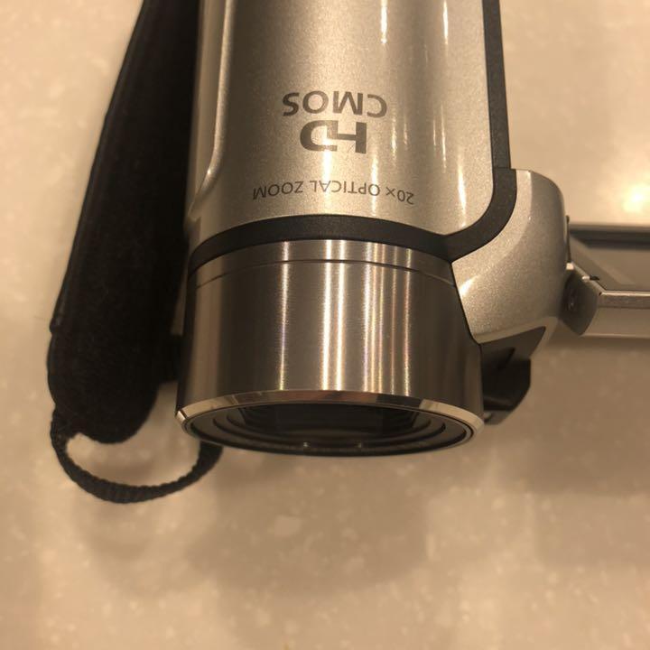 1円~Canon デジタルビデオカメラ iVIS HF R11 スノーシルバー IVISHFR11SL_画像4