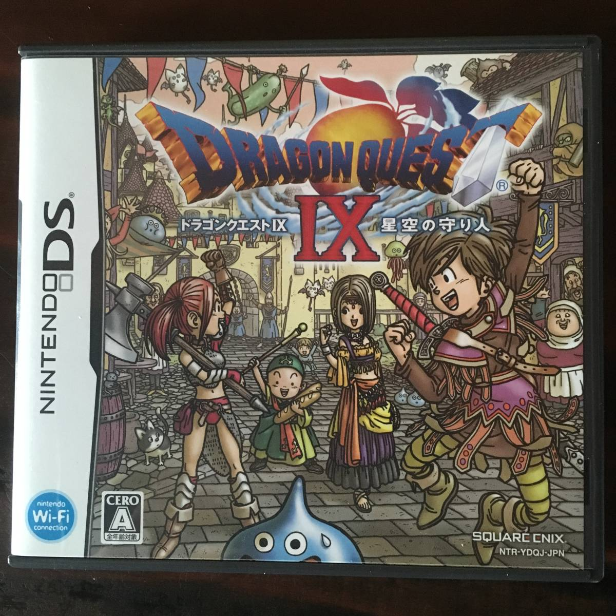 DS Dragon Quest Ⅸ star empty. protection person Dragon ...