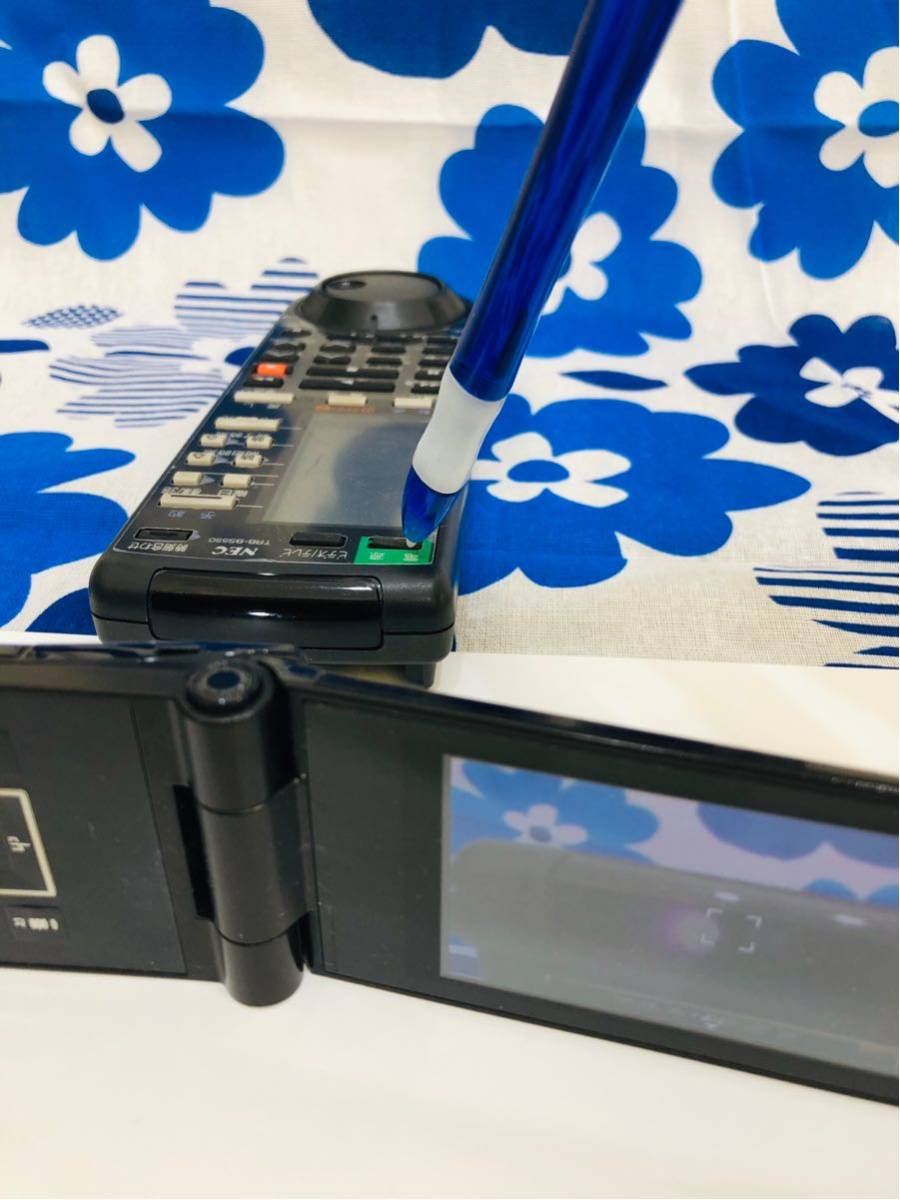 赤外線動作確認済み テレビ リモコン Paradola NEC TRB-BS550 ビデオ 映像機器 家電 シャープ TV ジャンク B_18_画像3