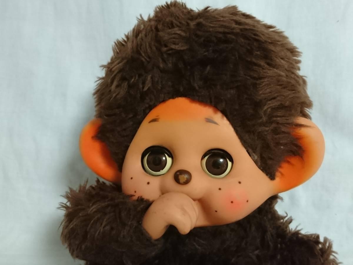 大助人形? まごころの人形? 「スリープアイのモンチッチ似人形」 約32cm 指しゃぶり TOHO だいすけ ダイスケ セキグチ_画像7