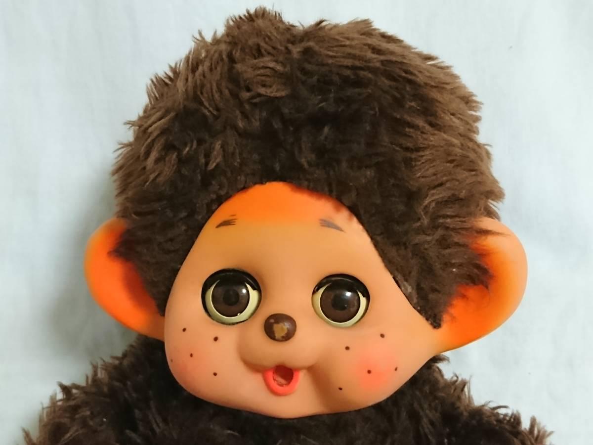 大助人形? まごころの人形? 「スリープアイのモンチッチ似人形」 約32cm 指しゃぶり TOHO だいすけ ダイスケ セキグチ_画像6