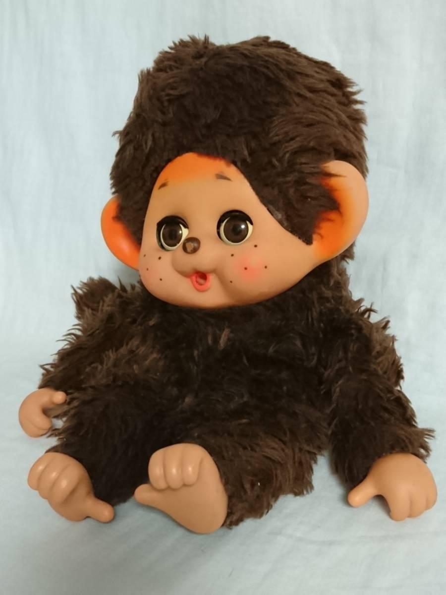 大助人形? まごころの人形? 「スリープアイのモンチッチ似人形」 約32cm 指しゃぶり TOHO だいすけ ダイスケ セキグチ_画像2