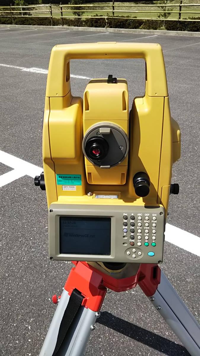 TOPCON GPT-7005 トプコン パルストータルステーション 動作品