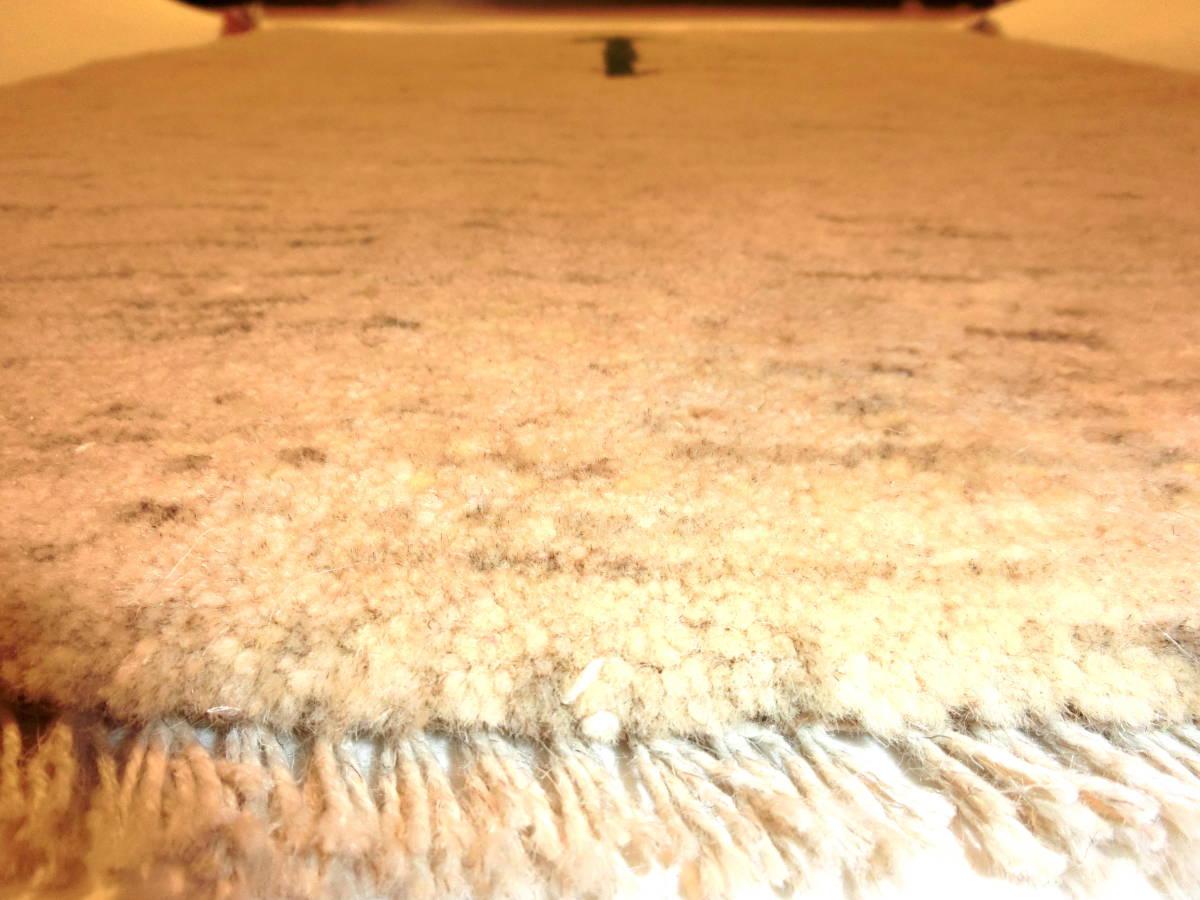 「M10」SALE イラン直輸入☆新品◇未使用| シラーズ産 ペルシャ絨毯 ギャッベ ウール100% 手織り 手紡ぎ オーガニック 91cm×68cm_画像3