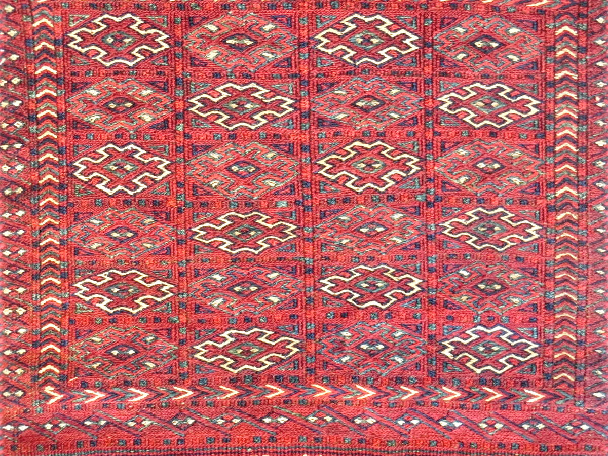 「LO13」イラン直輸入☆ペルシャ絨毯 ♪ キリム 草木染め 手織り ハンドメイド バクティアリ族 ロングサイズ 220cm×60cm _画像2