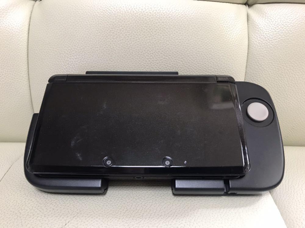 ★任天堂★ ニンテンドー3DS ブラック CTR-001/拡張スライドパッド(3DS用)CTR-009 おまけ_画像7