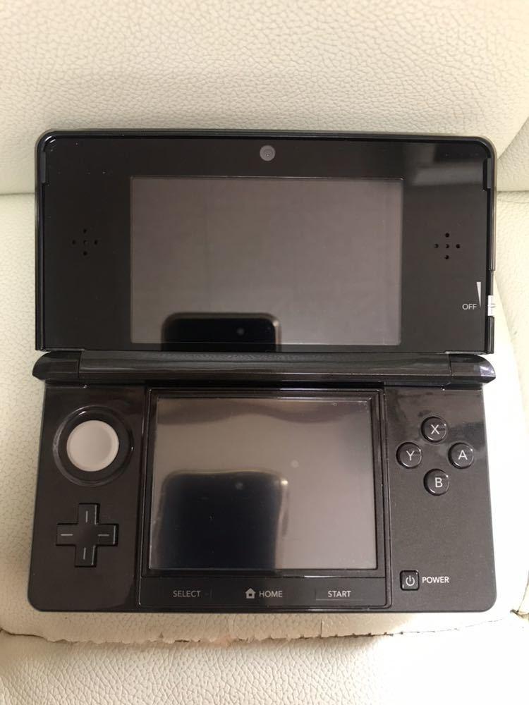 ★任天堂★ ニンテンドー3DS ブラック CTR-001/拡張スライドパッド(3DS用)CTR-009 おまけ_画像8
