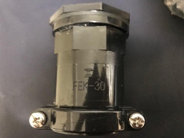 未来工業 ミラフレックス コネクタ FEK-30 FEK-50 各1台 未使用品 長期倉庫保管品_画像2