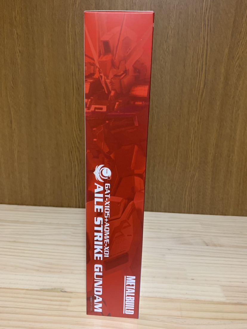 METAL BUILD メタルビルド 機動戦士ガンダムSEED エールストライクガンダム & ガンバレルストライカー 未開封・新品 送料無料_画像4