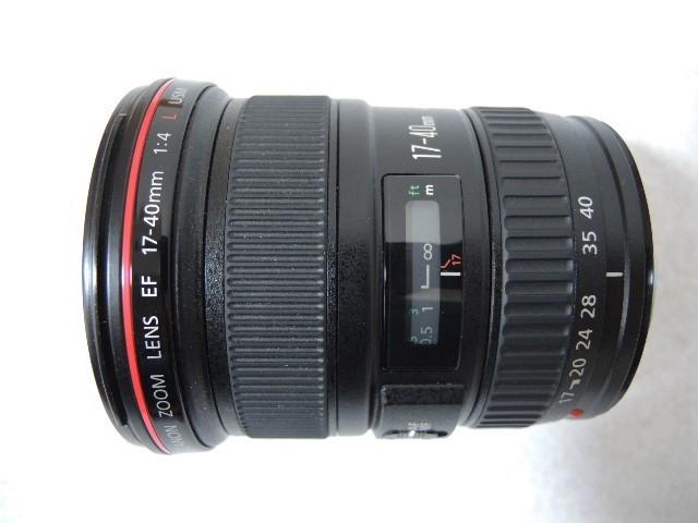 ◆キヤノン CANON ZOOM EF 17-40mm 1:4 L USM レンズ _画像2