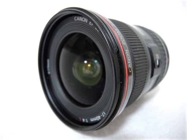 ◆キヤノン CANON ZOOM EF 17-40mm 1:4 L USM レンズ _画像4