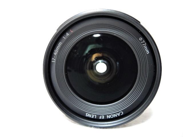 ◆キヤノン CANON ZOOM EF 17-40mm 1:4 L USM レンズ _画像5