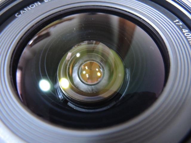 ◆キヤノン CANON ZOOM EF 17-40mm 1:4 L USM レンズ _画像7